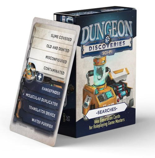 Dungeon Discoveries – Scifi Searches