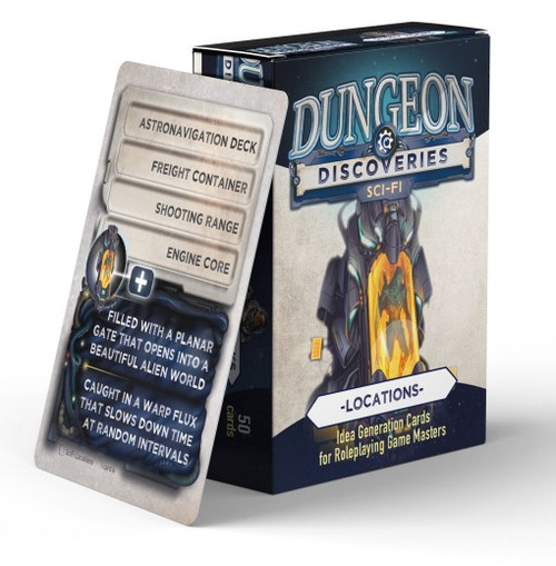 Dungeon Discoveries – Scifi Locations
