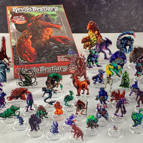 Revilo Bestiary Monster Box of Pawns- Box 1