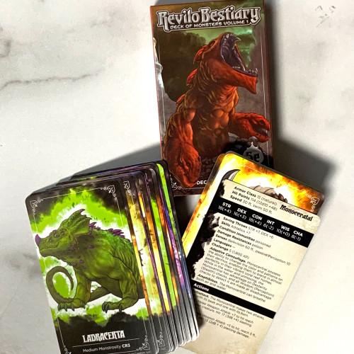 Revilo Bestiary Decks- Monster Deck 1