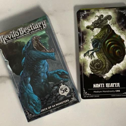 Revilo Bestiary Decks- Monster Deck 2