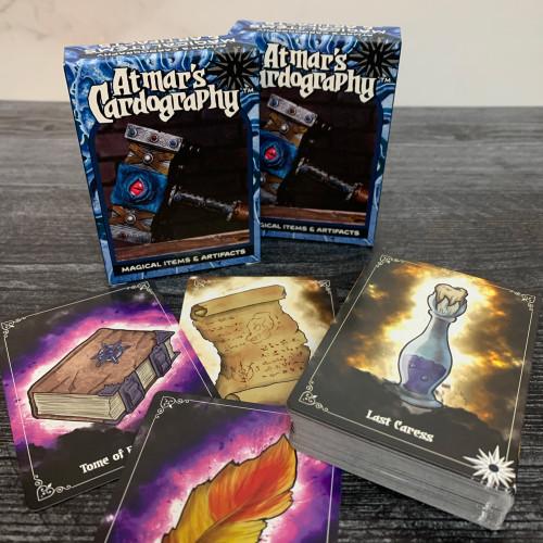 Atmar's Cardography 08 - Magic Items & Artifacts