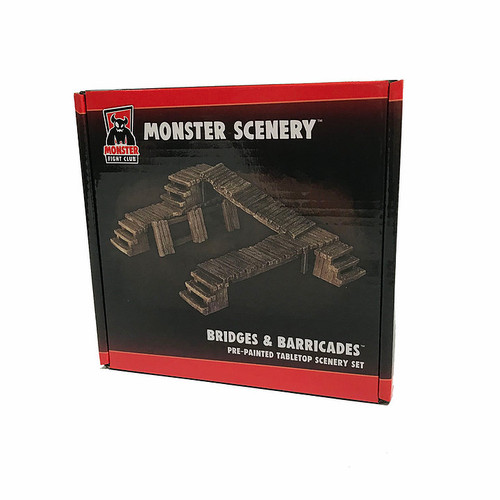 Monster Scenery - Bridges & Barricades