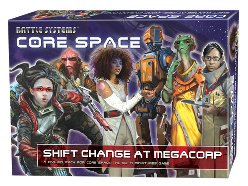 Core Space Shift Change at MegaCorp