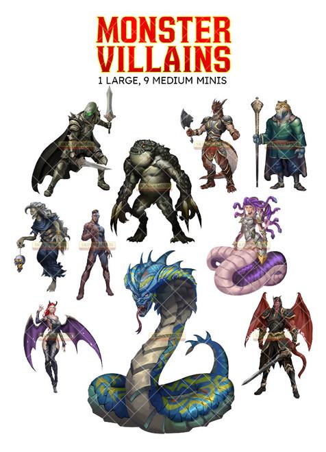 Monster Villains