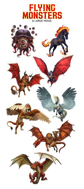 Flying Monsters