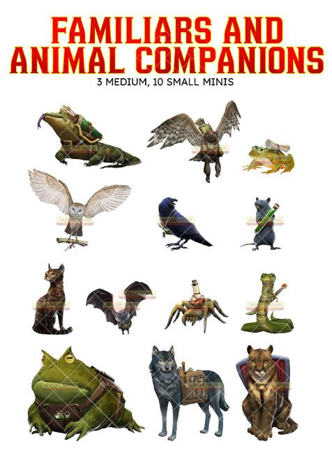 Familiars & Companions