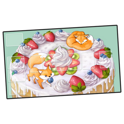 Frenemy Pastry Party: Caketop Playmat