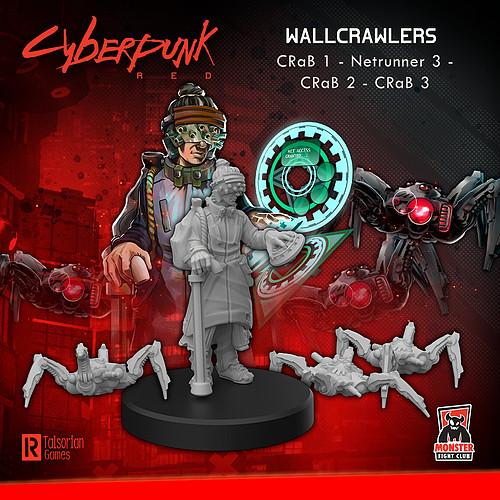 Cyberpunk RED Miniatures - Wall Crawlers