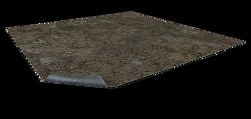 Muddy Streets Gaming Mat 3x3