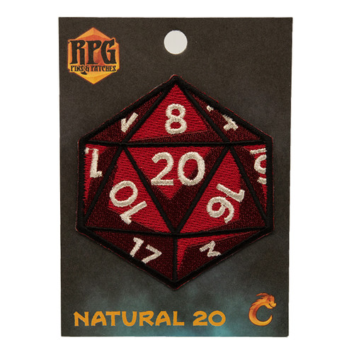 Natural 20 - Patch