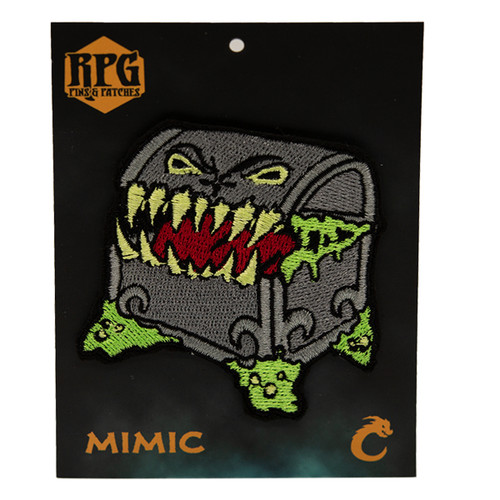 Mimic - Embroidered Patch