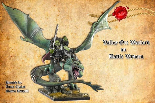 Battle Wyvern with Warlord