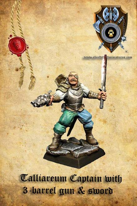Captain of the Guard (pistol & sword)