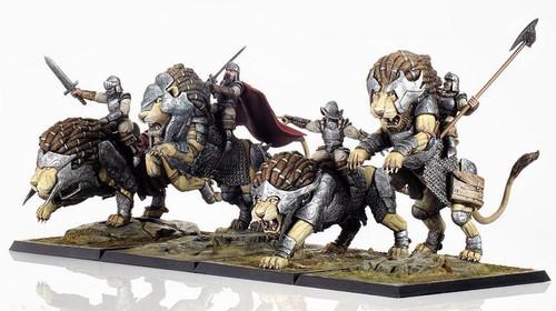 Siberias Lion Rider (Pack)
