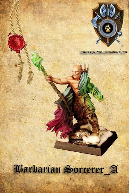 Barbarian Sorcerer A
