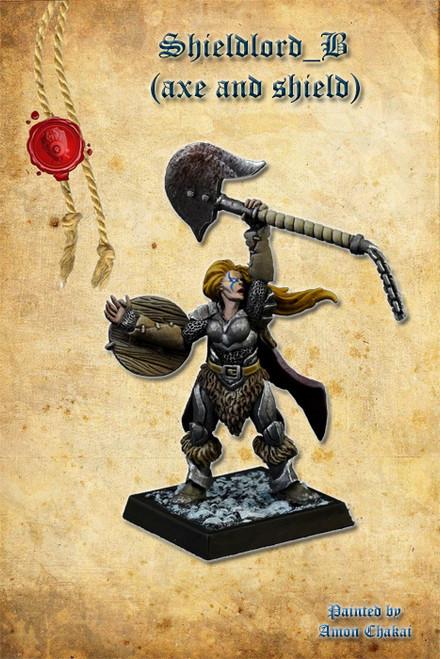 Shieldlord B (Axe & Shield)