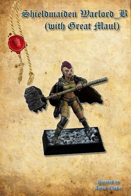 Shieldmaiden Warlord B (Great Maul)