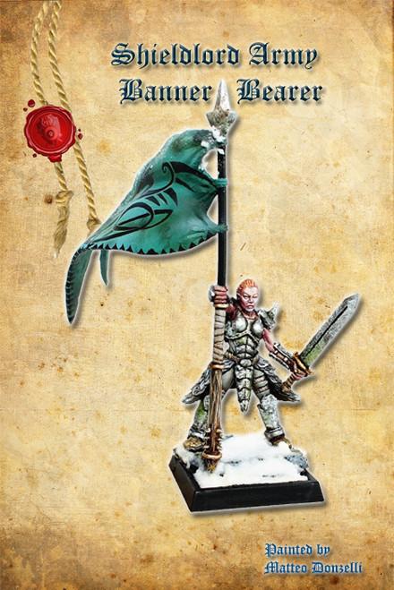 Shieldmaiden Army Banner Bearer