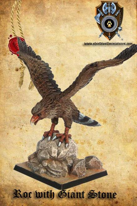 Giant Desert Eagle (w/ Giant Rock)