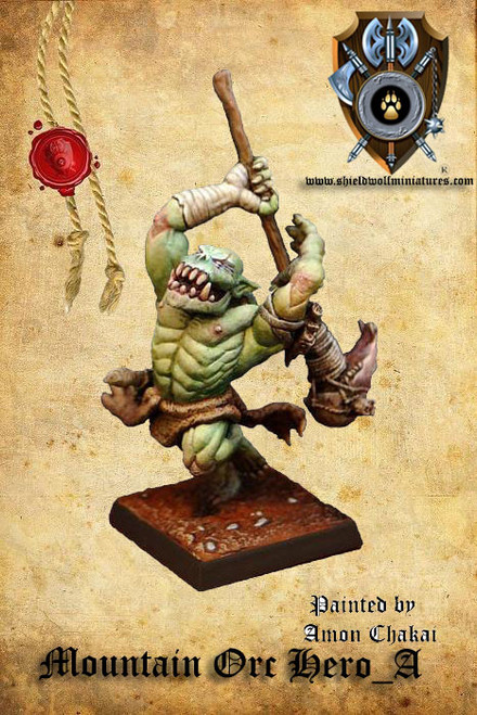 Mountain Orc Hero A (2 Handed Weapon)