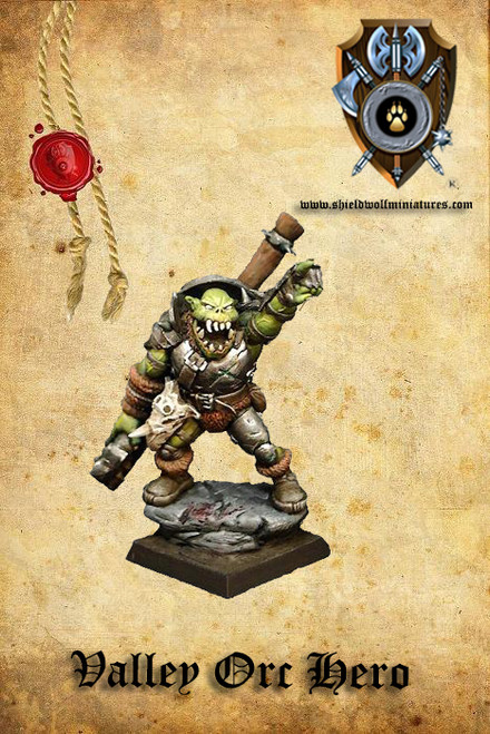 Valley Orc Hero A (2 Handed Weapon)
