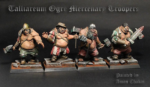 Talliareum Ogre Troopers (4 pack)