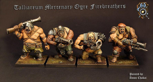 Talliareum Ogre Firebreathers (4 pack)