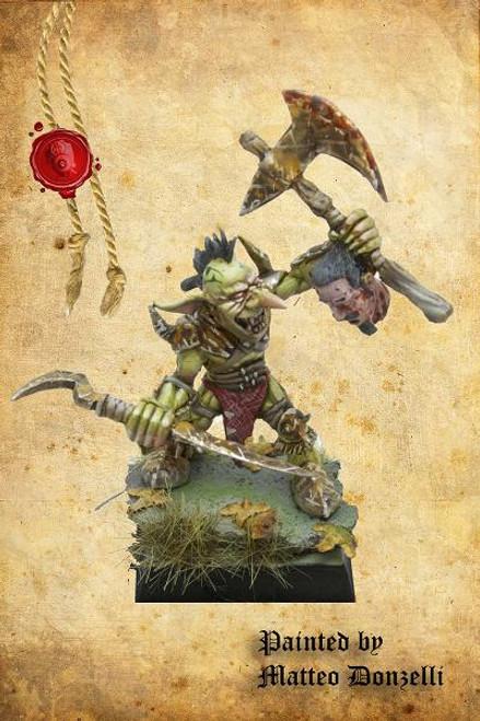 Goblin Hero B (2 Weapons)