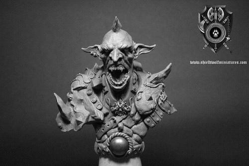 Goblin Warrior Bust