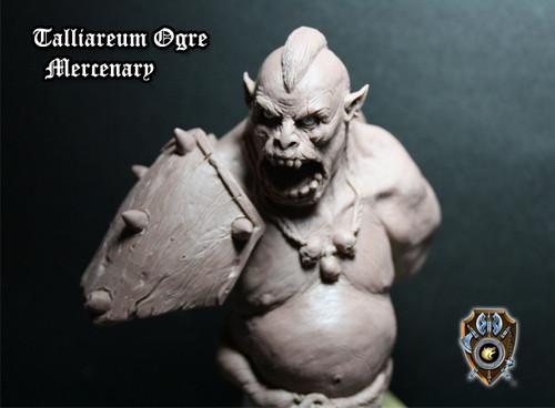 Talliareum Ogre Mercenary Bust