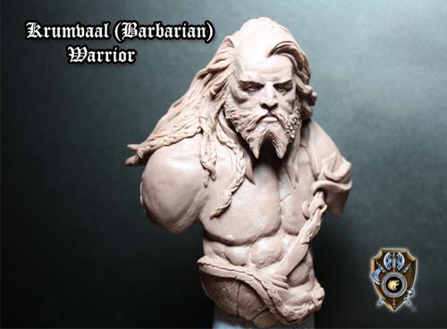 Krumvaal Barbarian Bust