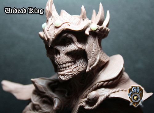 Undead King Bust
