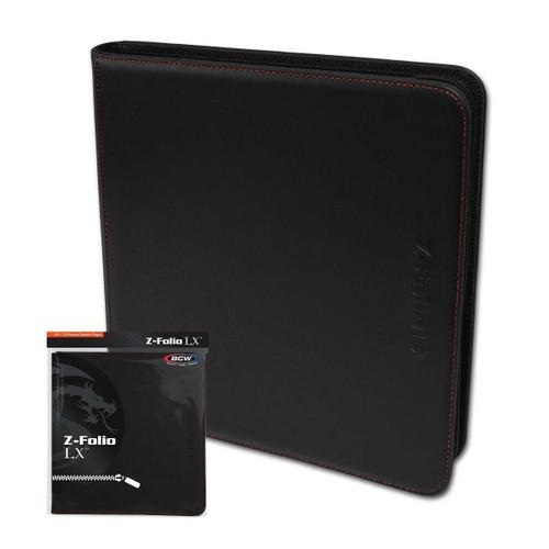 Zipper Folio 12 Pocket - LX - Black