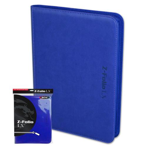 Z Folio 9 Pocket LX - Blue