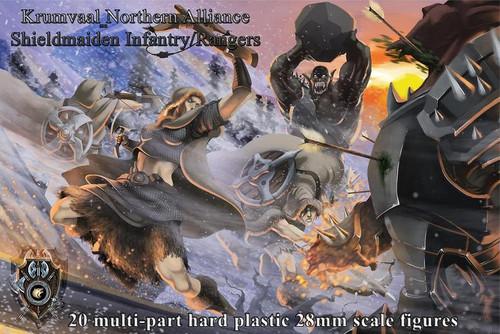 Shieldmaiden Infantry/ Rangers