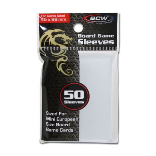 Board Game  Sleeves - 45mm X 68mm