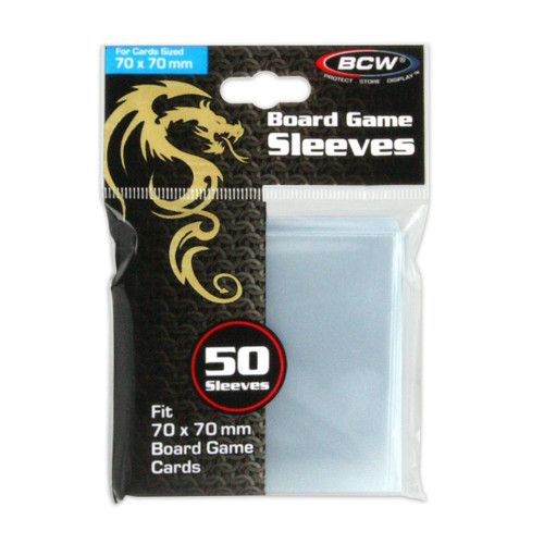 Board Game Sleeves - 70mm X 70mm