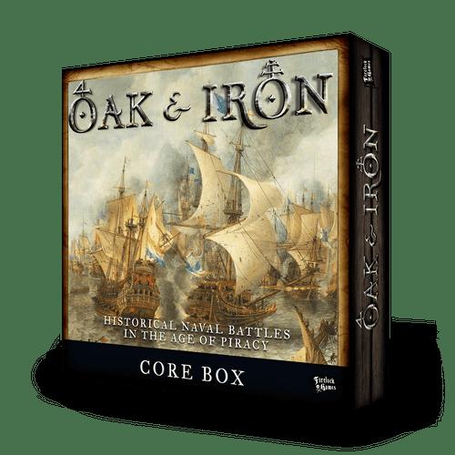 Oak & Iron Core Box