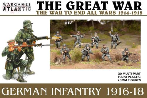 The Great War: German Infantry (1916-1918)