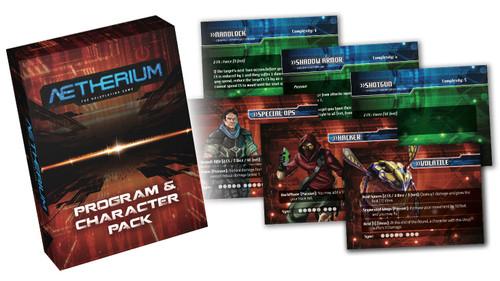 Aetherium RPG: Program & Character Pack