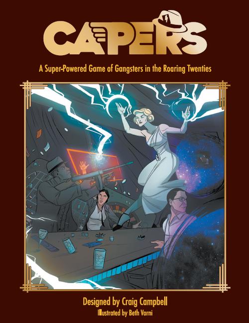 Capers - Deluxe Hardback