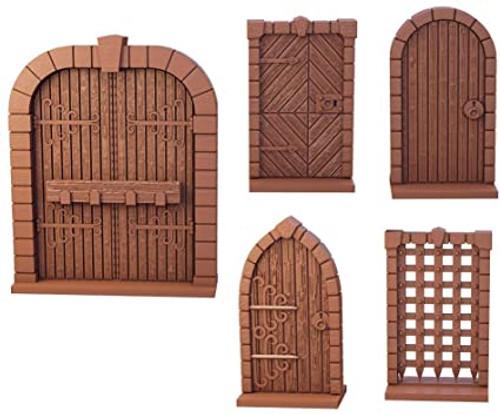 Terrain Crate Dungeon Doors