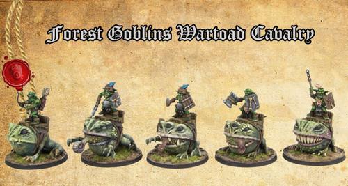 Forest Goblin Wartoad Cavalry