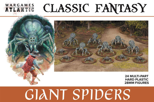Classic Fantasy: Giant Spiders