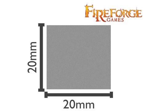 Square Bases - 20x20mm