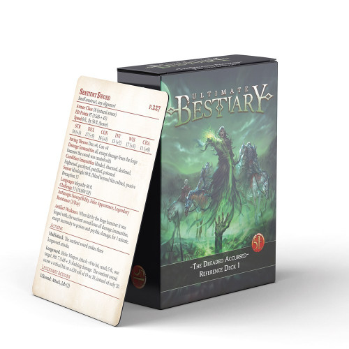The Dreaded Accursed – Monster Reference Deck 1 (5E)