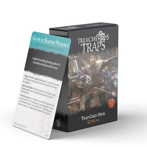 Treacherous Traps Deck Level 5-8 (5E)