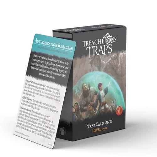 Treacherous Traps Deck Level 17-20 (5E)