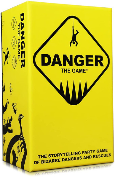 Danger The Game: The Storytelling Party Card Game of Bizarre Dangers and Rescues